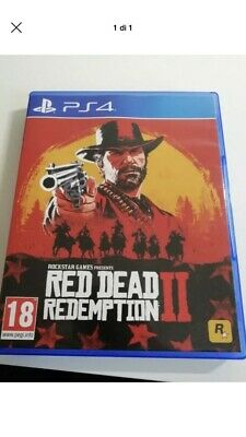 Red Dead Redemption Ii 2 Playstation 4 Ps4 Videogioco