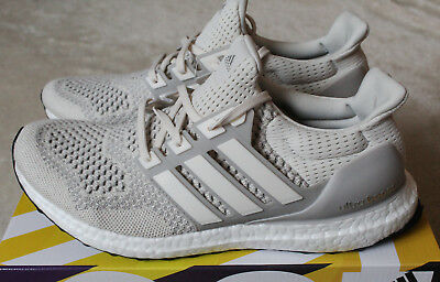 2b57167965d88 New Adidas Ultra Boost 1.0 Cream Talc White Chalk 2018 Release UK 8 US 8.5  EU