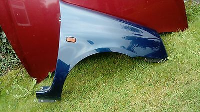 Renault Clio MK2 Phase 2 2001-2006 Driver's Offside OS Front Wing Blue