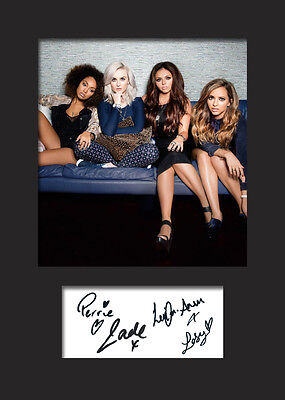 LITTLE MIX #3 Signed Photo Print A5 Mounted Photo Print - FREE DELIVERY