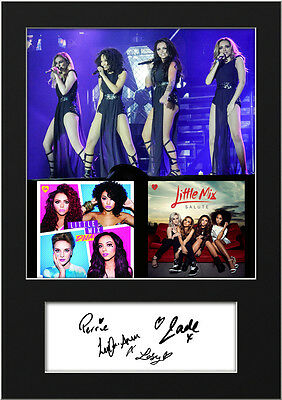 LITTLE MIX #7 Signed Photo Print A5 Mounted Photo Print - FREE DELIVERY