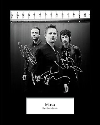 MUSE #1 10x8 SIGNED Mounted Photo Print (Reprint) - FREE DELIVERY