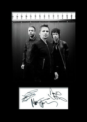 MUSE #1 Signed A5 Mounted Photo Print (REPRINT) - FREE DELIVERY