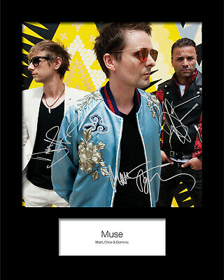 MUSE #2 10x8 SIGNED Mounted Photo Print (Reprint) - FREE DELIVERY