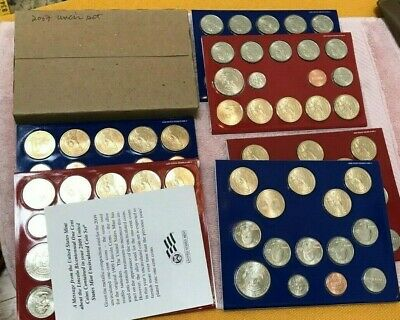 US Mint Uncirculated Coin Sets 2007 2008 2009 2010 ~ 1 Unopened Box