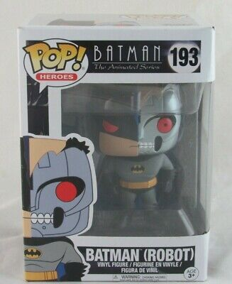 Funko Pop! Batman The Animated Series Batman Robot #193 - Read