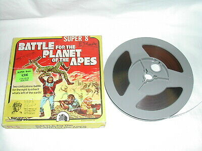 Escape From Planet Of The Apes Colour Sound Super 8 Cine Film With Wrong Box