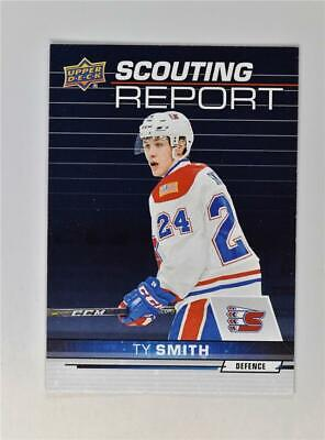 2018-19 18-19 UD Upper Deck CHL Scouting Report #SR-12 Ty Smith