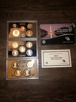 2013 - US Mint Silver Proof Set