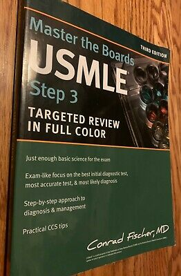 MASTER THE BOARDS Usmle Step 2 Ck by Conrad Md Fischer
