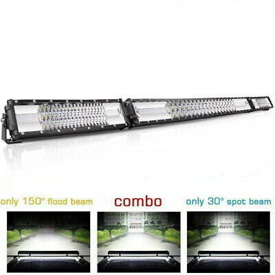 30INCH Slim striaght  LED Light Bar PK 30INCH Offroad Flood Spot Combo 32''