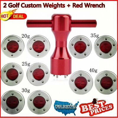 2* 20~40g Golf Custom Weights+Red Wrench For Titleist Scotty Cameron Putter MY