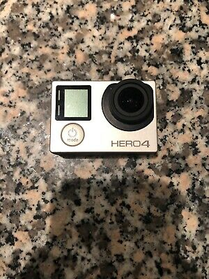 GoPro Hero 4 Silver Edition Camcorder CHDHY-401 With Touch Screen - Silver -