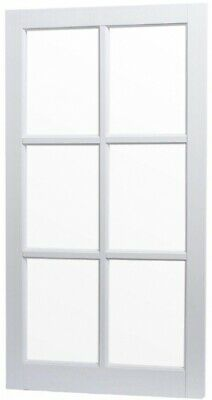 TAFCO WINDOWS 22 in x 41.25 in Utility Fixed Picture Vinyl Windows w/ White Grid