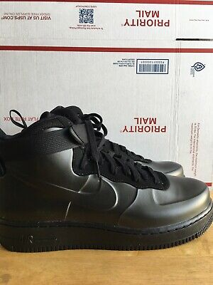b15348babf07a Nike Air Force 1 Foamposite Cup AH6771-001 Triple Black Sz 9.5 NEW without  Box