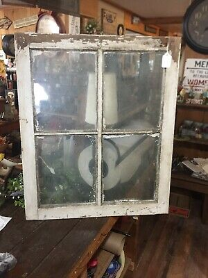 Vintage Old 4 Pained Window