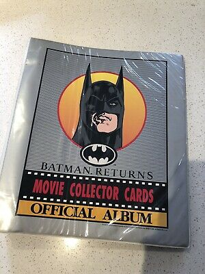 Batman Returns Trading Card Set