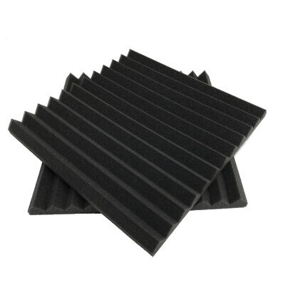6 Pack Acoustic Foam Wedge 30 X 30 X 5 cm Studio Soundproofing Panels Y6W1