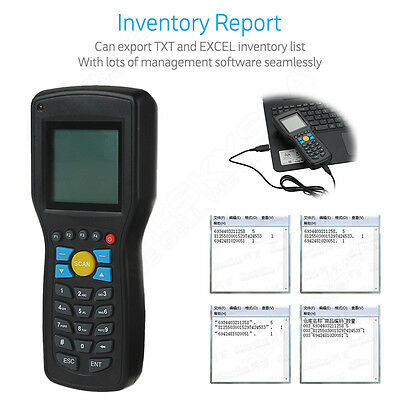Handheld Data Inventory Management Reports Wireless EAN13 UPCA/E Barcode Scanner