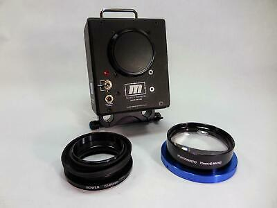 Redrock Micro M2E Encore Cinema Lens Adapter Nikon Mount 72mm HD Macro