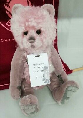 SPECIAL OFFER! Charlie Bears Isabelle Mohair BUBBLEGUM (No 165/350 ) RRP £150