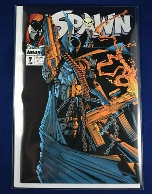 Spawn #7 9.2 NM- or better