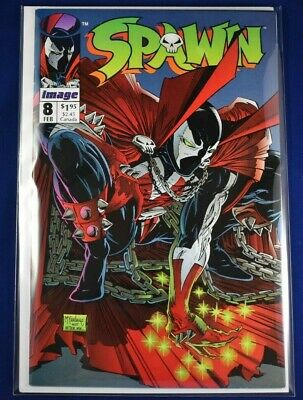 Spawn #8 Spider-Man #1 Homage 9.2 NM- or better