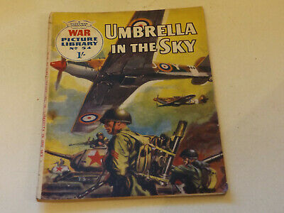 WAR PICTURE LIBRARY NO 54 !,dated 1960 !,GOOD for age,great 59 ! YR OLD issue.