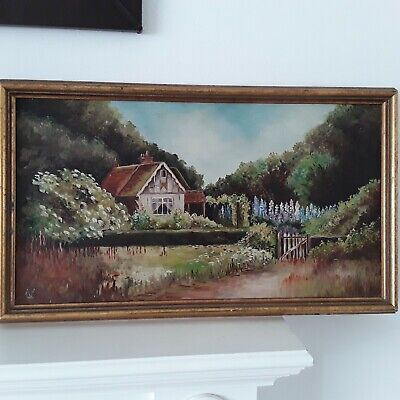 Oil paintings on canvas hand painted Landscape Country Contemporary signed Art