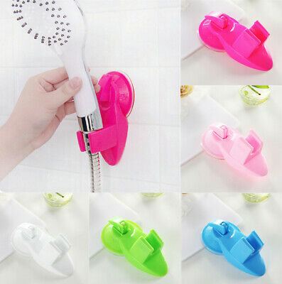 Adjustable Attachable Bathroom Shower Head Holder Wall Suction Cup Bracket
