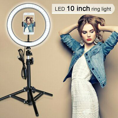 "6"" ZOMEI Ring Light Selfie Light Ring with Stand Beauty Light and Phone Clip"