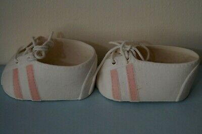 Cpk & My Child Doll Pink Stripe Sports Shoes