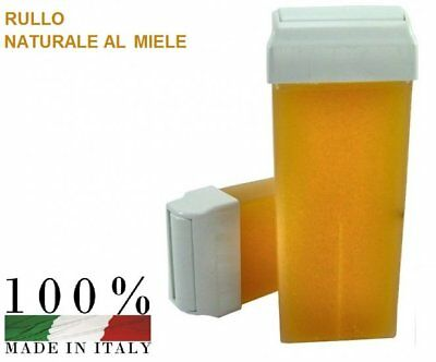 CERA DEPILATORIA Rullo 24 rulli  Depiwell CARTUCCIA ROLL-ON CERETTA 100 ML
