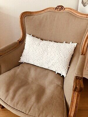 Antique ArmchLovely French Louis Style Chair / Armchair - Freshly Upholstered