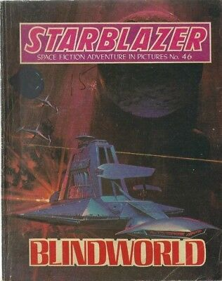 Blindworld,no.46,starblazer Space Fiction Adventure In Pictures,comic