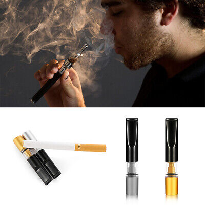 2pcs Reusable Tobacco Cigarette Filter Mouthpiece Reduce Tar Cigarette Creative
