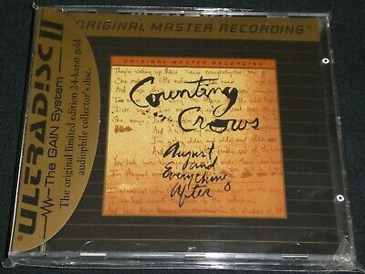 COUNTING CROWS - August and Everything After - MFSL. Gold CD. Neu & OVP.