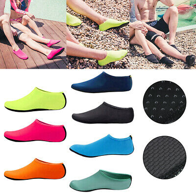 6adcdd1c81a6 Men Women Water Shoes Barefoot Aqua Socks Quick-Dry Beach Swim Sports  Exercise