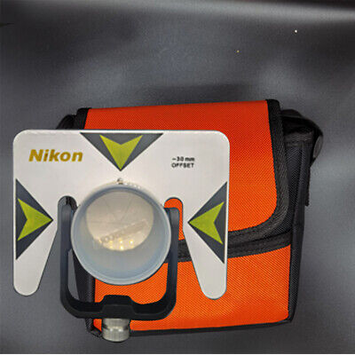 5PCS Single Prism with Bag for total station 0/-30mm Constant Prism