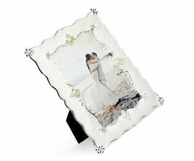 Frames Wedding Gift For Couple-Personalized Offset Picture Frame-Dove Rings-Six Colors