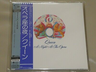 QUEEN - A Night At The Opera - SHM-CD. Limited Edition. HR CUTTING.