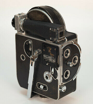 Bolex Paillard H8 // External Frame Counter // Sn: 30690 (1946) // Double 8mm