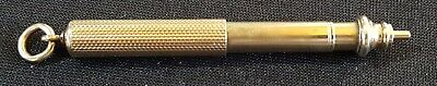 Sampson Mordan 10 carat gold vintage Georgian antique propelling pencil