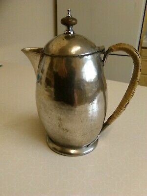 Antique Tudric Ware Pewter Coffee/Hot Water Pot (1918)