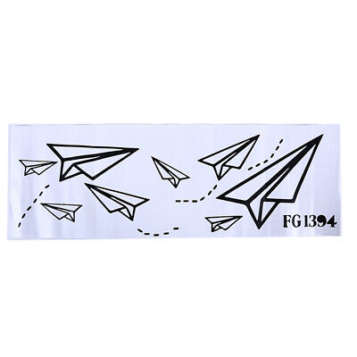 Creative Paper Airplane Shape Wall Decal Children Room Decor Wall Stickers LH