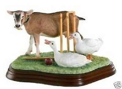Border Fine Arts Studio James Herriot Collection Out For A Duck A8916 New Boxed