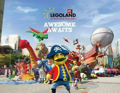 💖 2 x Legoland Windsor Resort Tickets >>> Saturday 25th May 2019 Post or Email