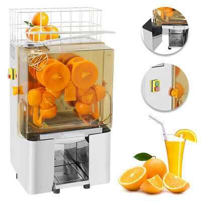 Commercial Auto Feed Orange Juicer Squeezer Stainless Steel Orange Juice Machine