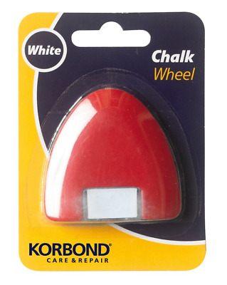 2 x Korbond Chalk Wheels  - White Fabric Patterns Sewing Marking.Free Postage