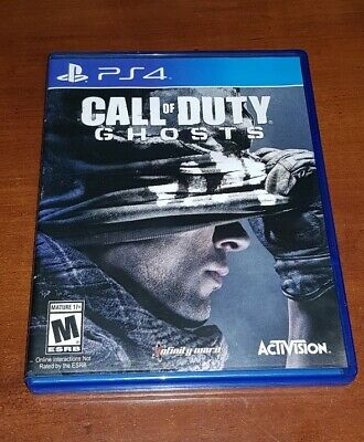 Call of Duty: Ghosts PS4 Playstation 4
